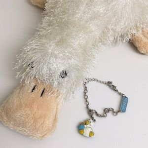 Webkinz Charm Bracelet with Googles charm